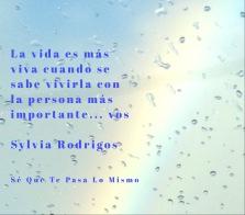 Sylvia Rodrigos-Se que te pasa lo mismo